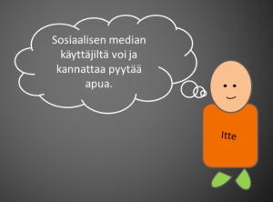 Sosiaalisen median käyttäjiltä voi ja kannattaa pyytää apua