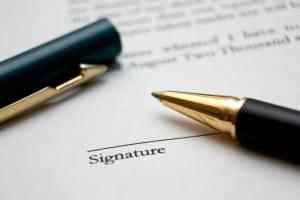 sopimus contract allekirjoitus signature